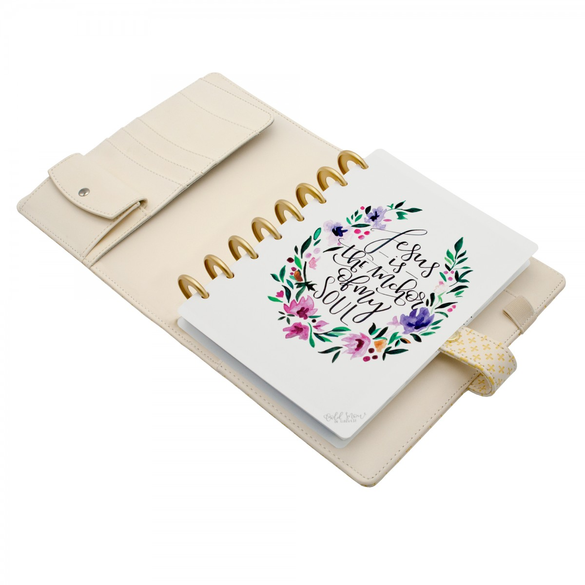 DISCAGENDA BLISS PRAYER JOURNAL A5 DISCBOUND SNAP CLOSURE