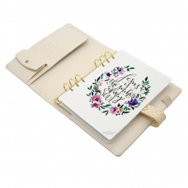 DISCAGENDA BLISS PRAYER JOURNAL A5 RINGBOUND SNAP CLOSURE