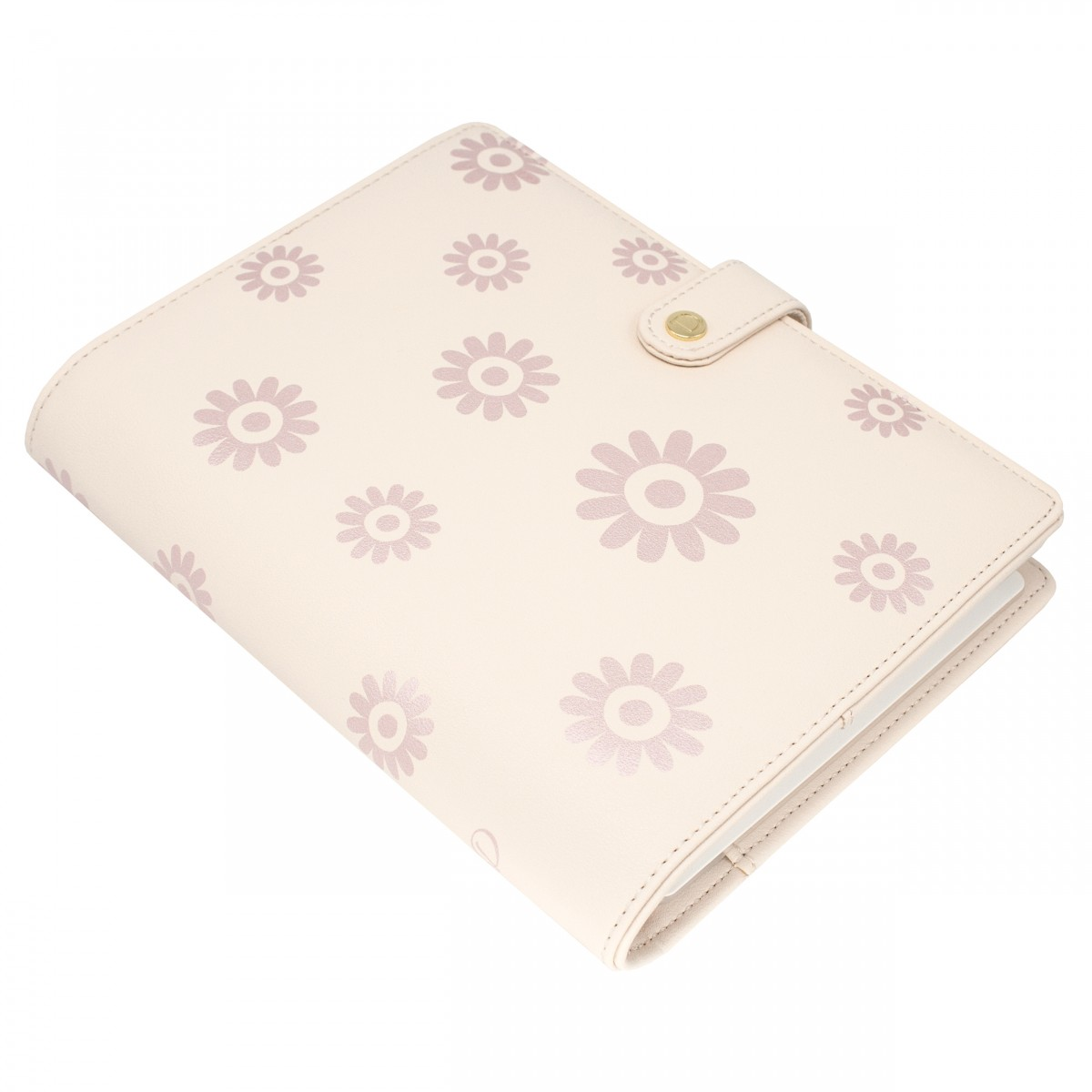 DISCAGENDA BLOSSOMS ROSEGOLD COVER A5 SNAP CLOSURE