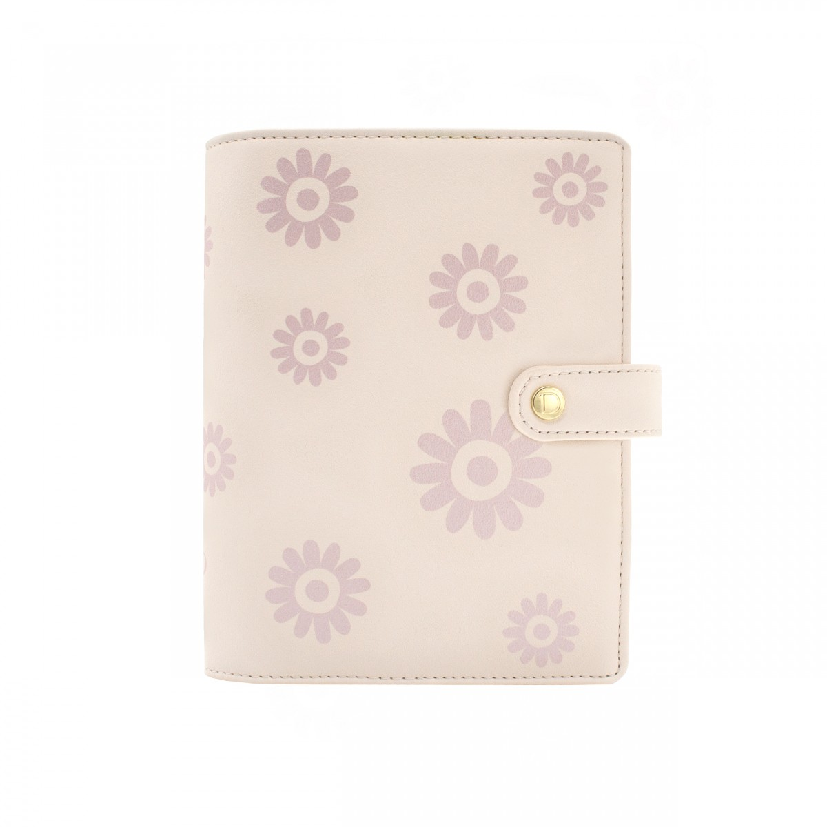 DISCAGENDA BLOSSOMS ROSEGOLD COVER PERSONAL SNAP CLOSURE