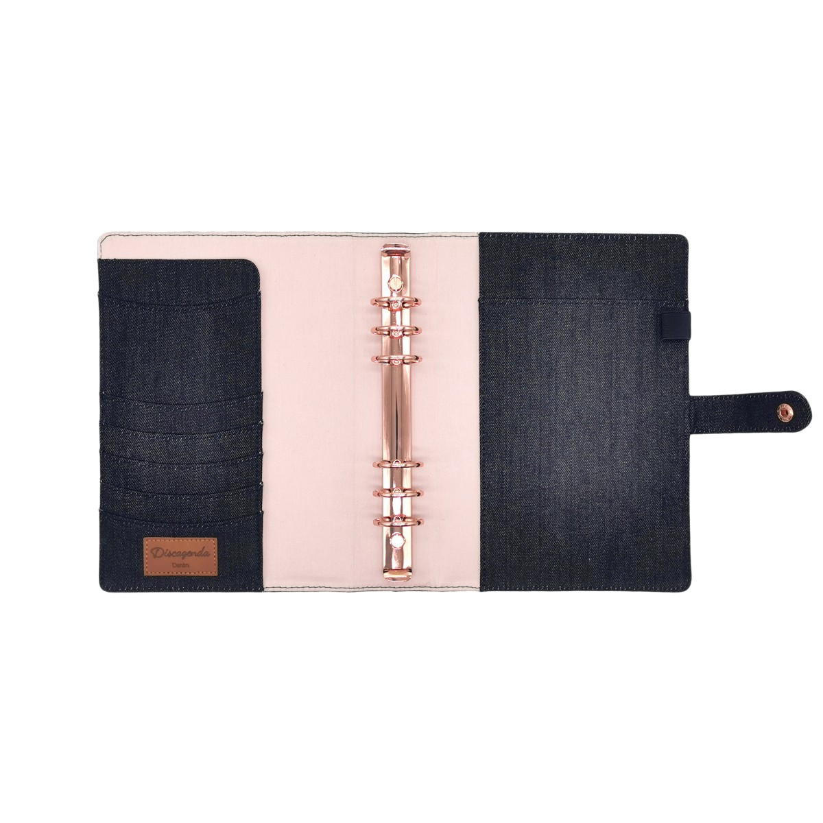 DISCAGENDA DENIM A5 SNAP CLOSURE PLANNER