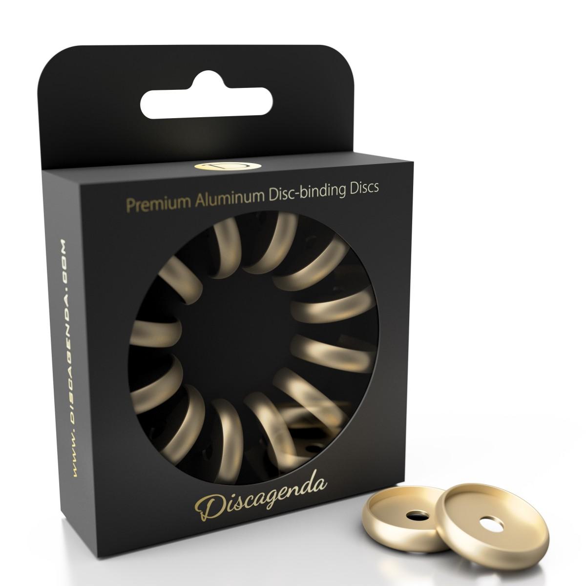 DISCAGENDA DISCBOUND DISCS 24MM 12 PIECE SET GOLD