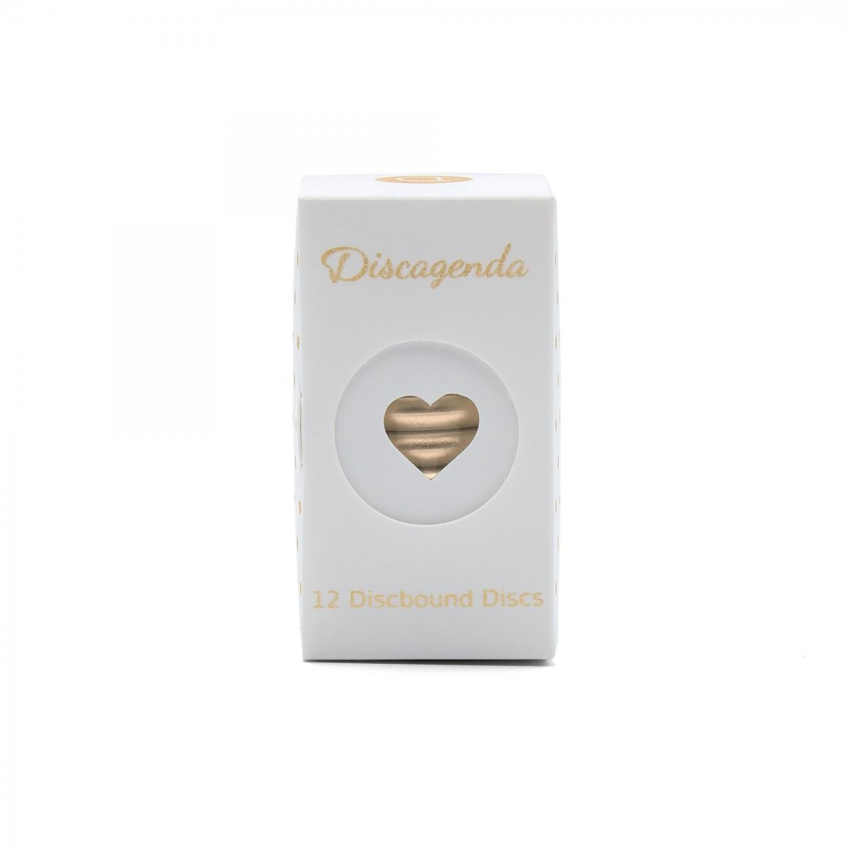 DISCAGENDA DISCBOUND DISCS 33MM 12 PIECE SET GOLD