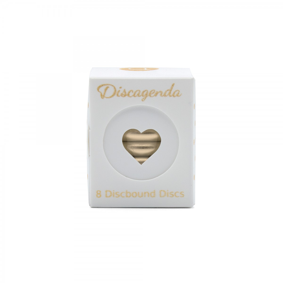 DISCAGENDA DISCBOUND DISCS 33MM 8 PIECE SET GOLD