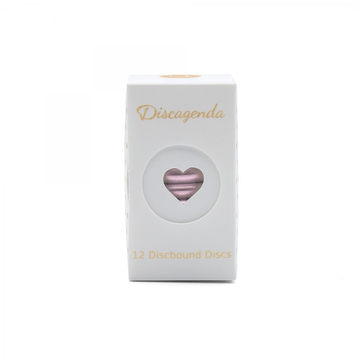 DISCAGENDA DISCBOUND DISCS 33MM 12 PIECE SET ROSE GOLD
