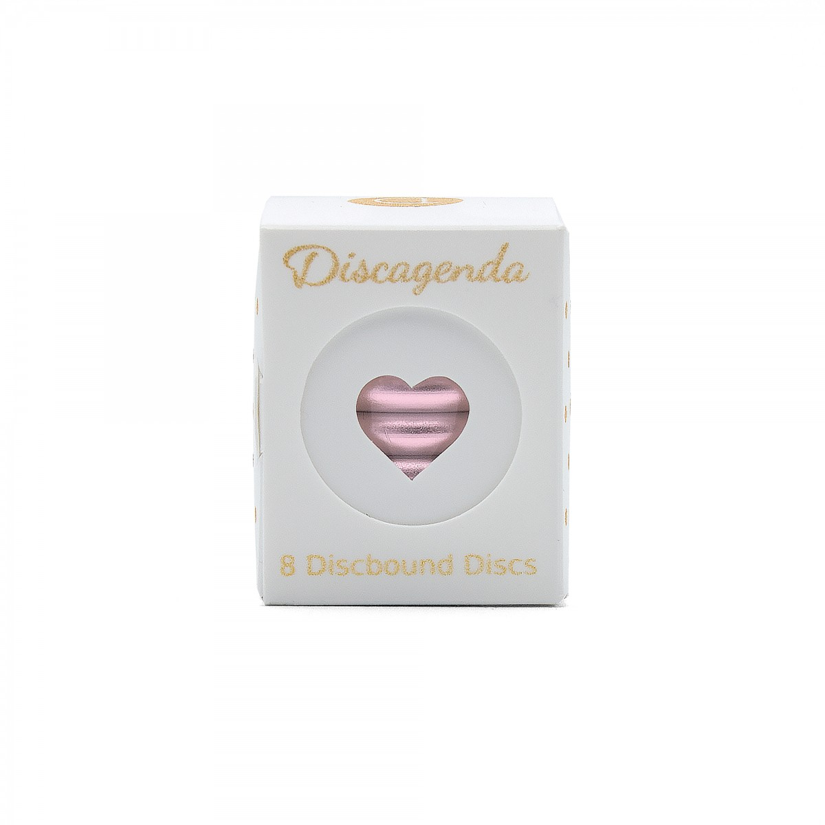 DISCAGENDA DISCBOUND DISCS 33MM 8 PIECE SET ROSE GOLD