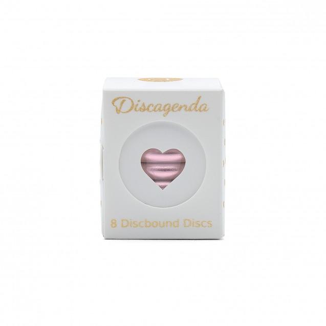 DISCAGENDA DISCBOUND DISCS 33MM 8 PIECE SET ROSE GOLD