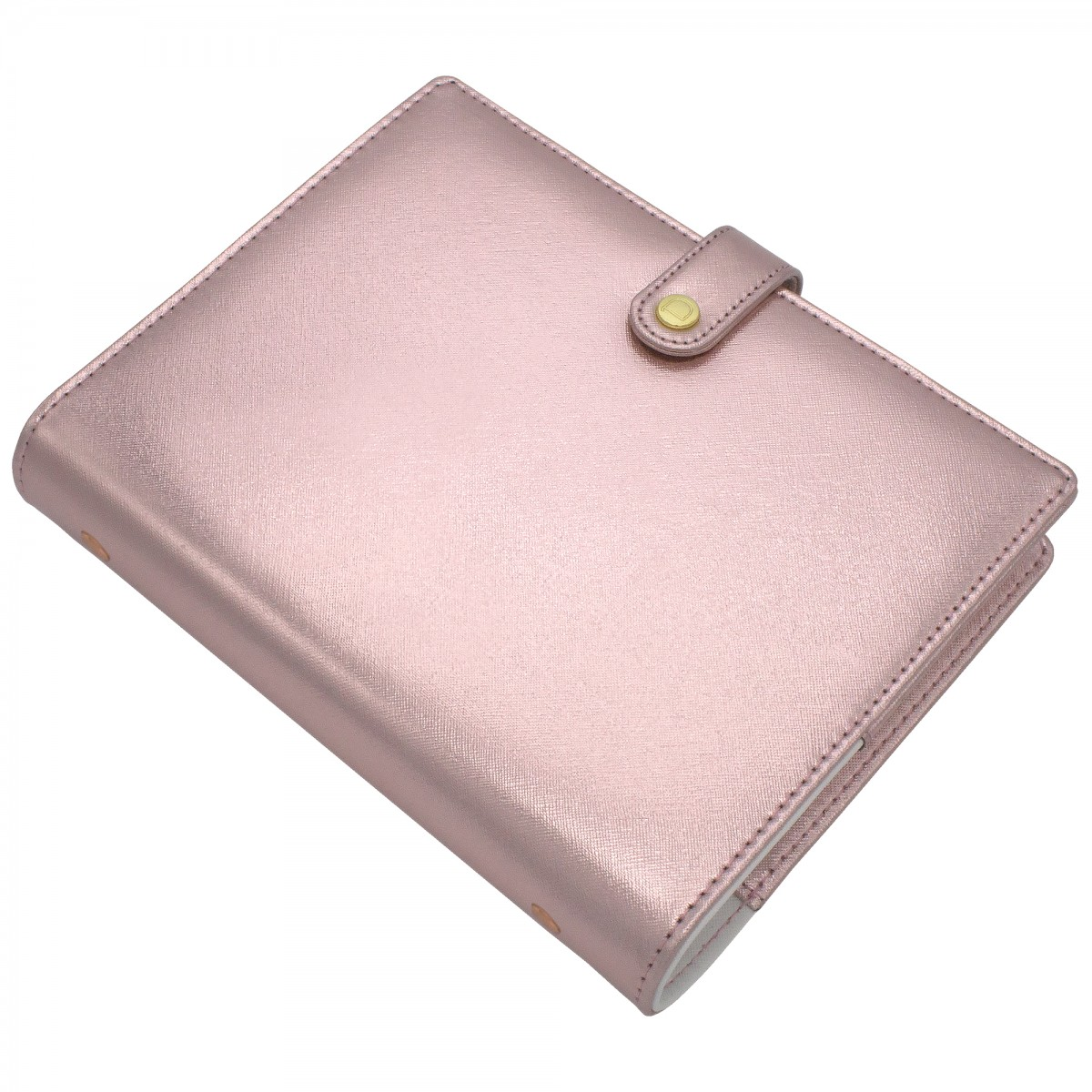 [Minor Flaw] DISCAGENDA DIVA ROSEGOLD RINGBOUND LARGE SNAP CLOSURE