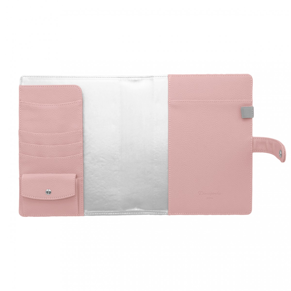 DISCAGENDA SERENE COVER A5 PALE PINK