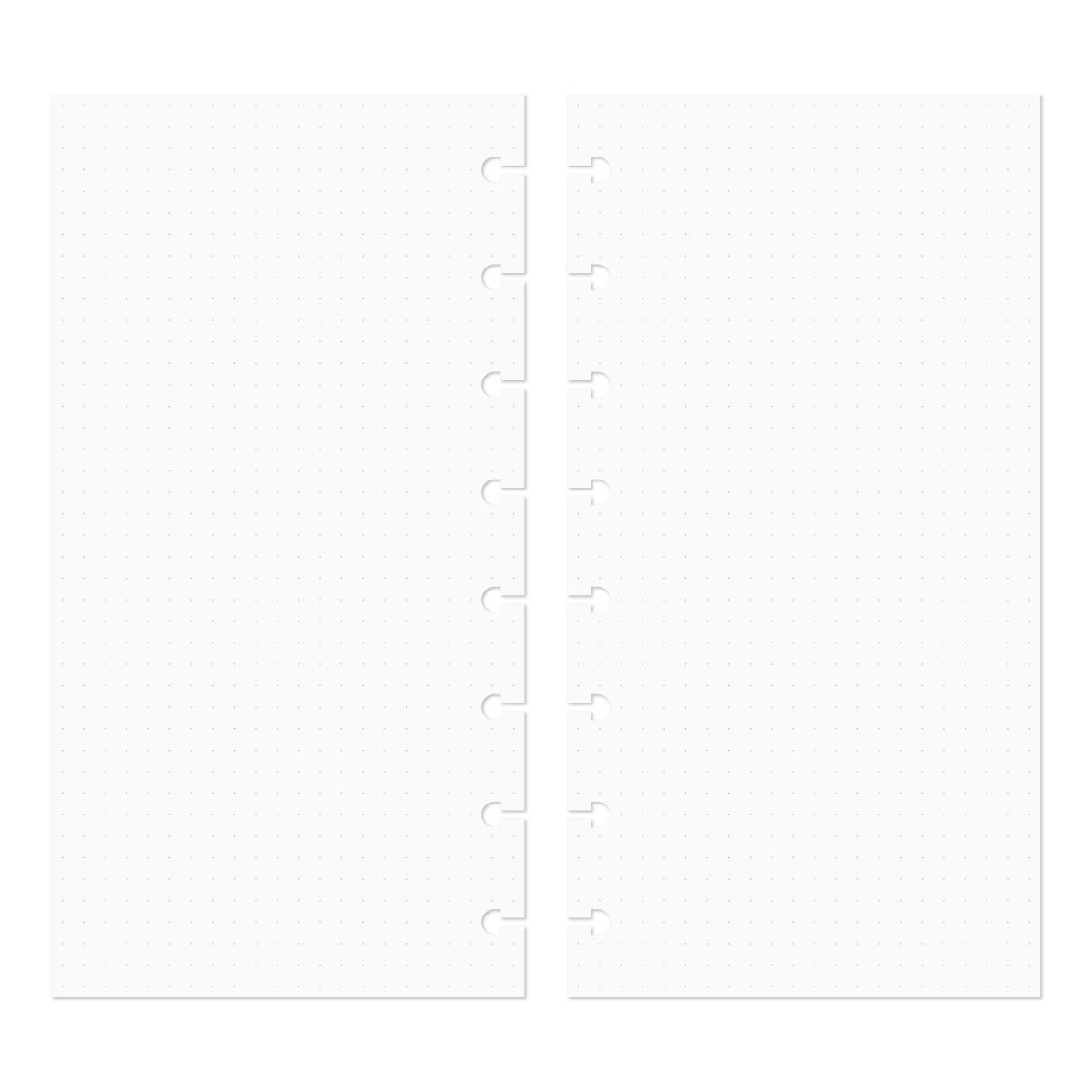 Discagenda Discbound Traveler's Notebook Insert Refills (Dots)
