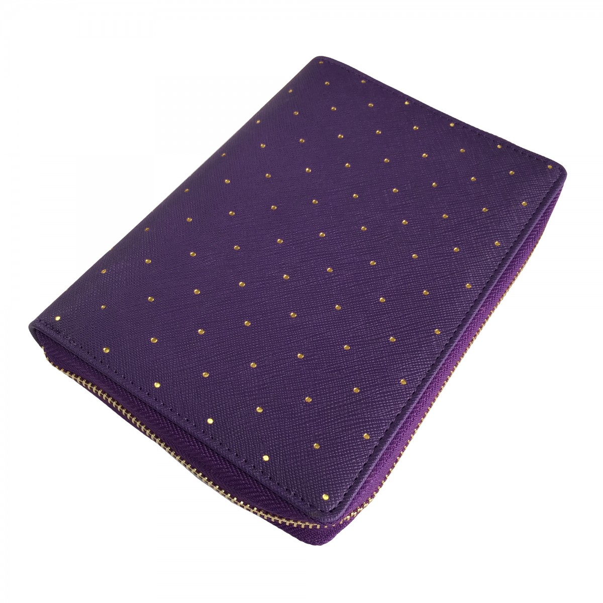[Minor Flaw] DOKIBOOK ROYAL PURPLE ZIP SMALL