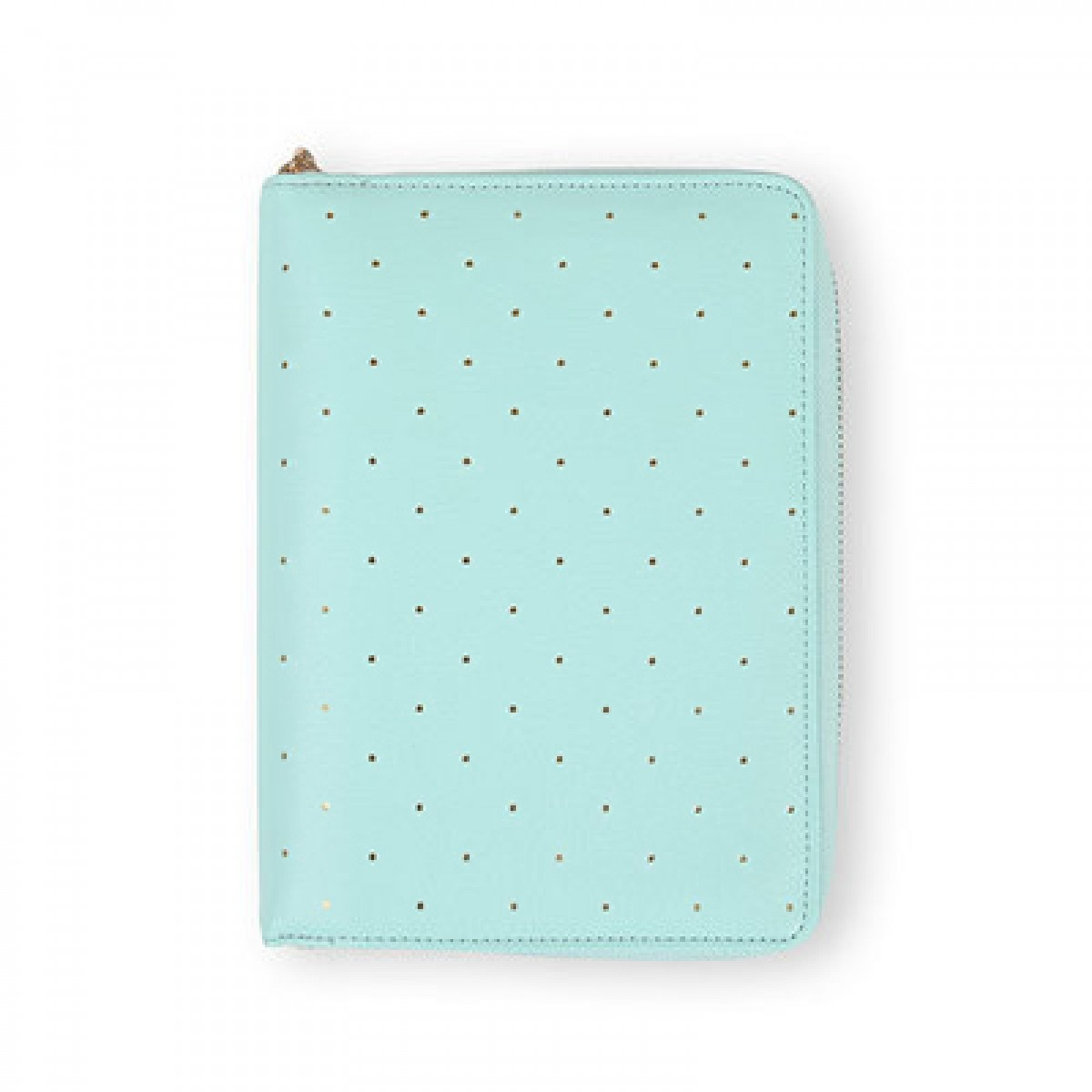 [Minor Flaw] DOKIBOOK MINT DOTTED WITH ZIP SMALL