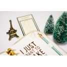 PAPER CLIPS GOLD CHRISTMAS TREE STYLE A