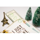 PAPER CLIPS GREEN CHRISTMAS TREE STYLE A