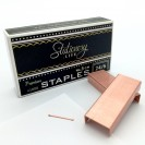 STATIONERY.LIFE ROSEGOLD STAPLES 24/6 NO.3-1M X 1000