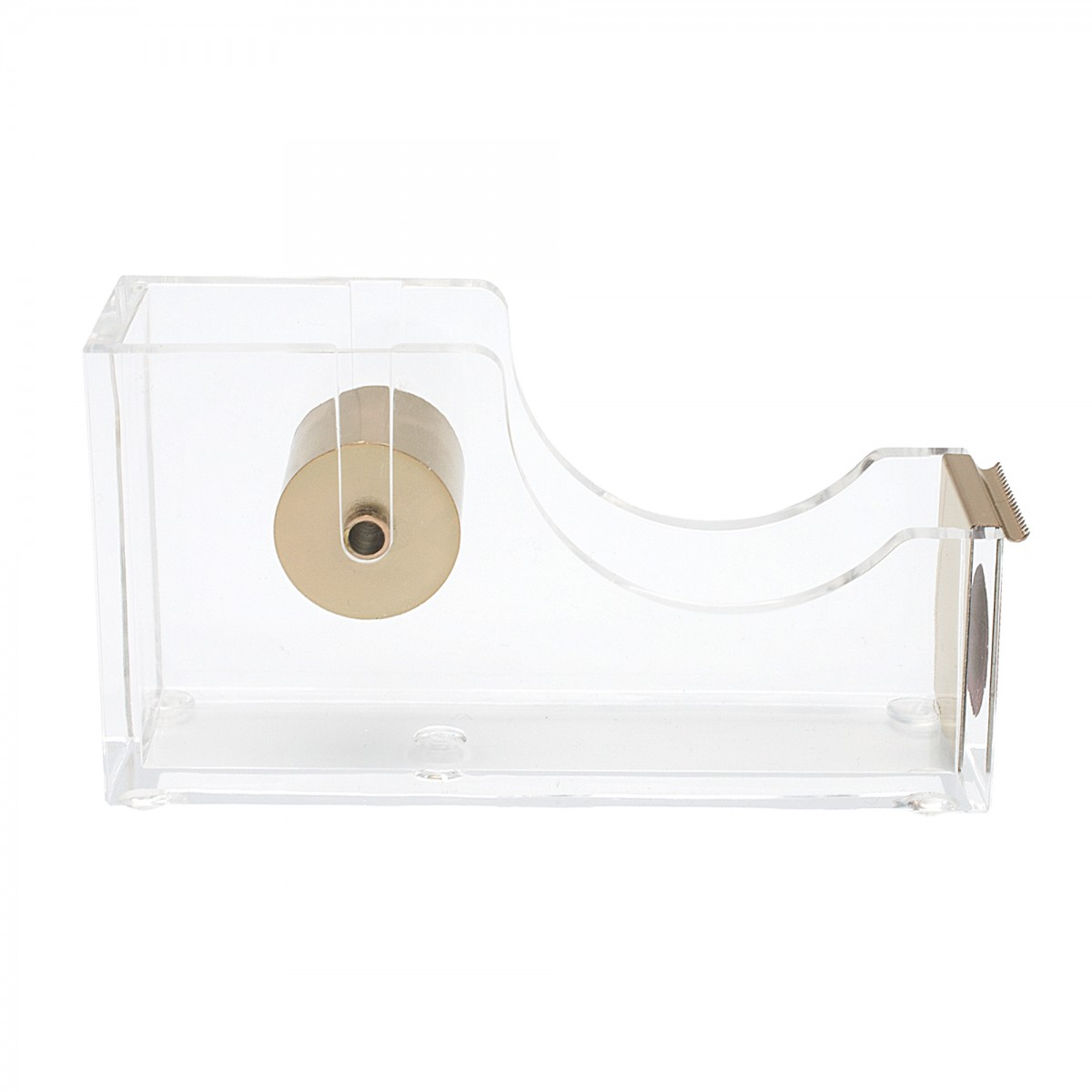 STATIONERY.LIFE ACRYLIC TAPE DISPENSER ROSEGOLD