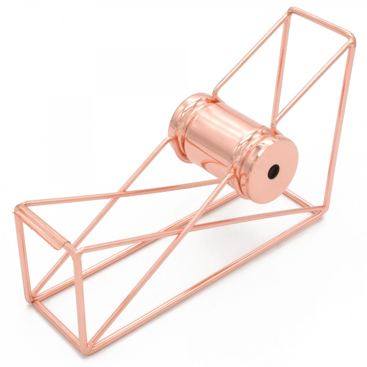STATIONERY.LIFE STEEL FRAME TAPE DISPENSER ROSEGOLD